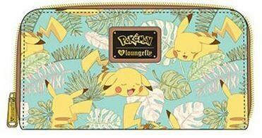 Pikachu Leaves Mint Wallet