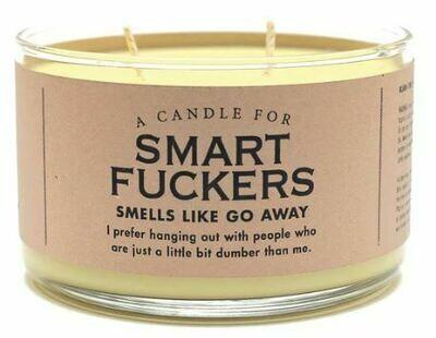 Smart Fuckers Candle