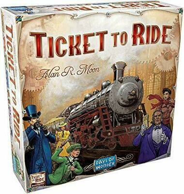 Ticket to Ride US 15th Anniversary