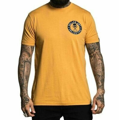 Autumn Badge Tee Mustard