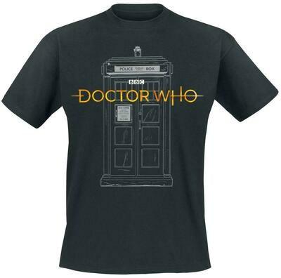 13th Doctor Tardis Tee