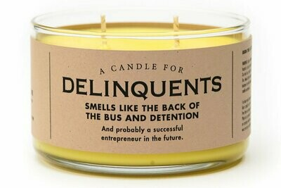 Delinquents Candle
