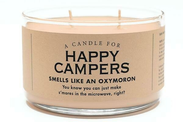 Happy Campers Candle