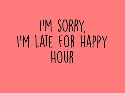 Happy Hour Tee