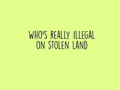 Stolen Land Tee