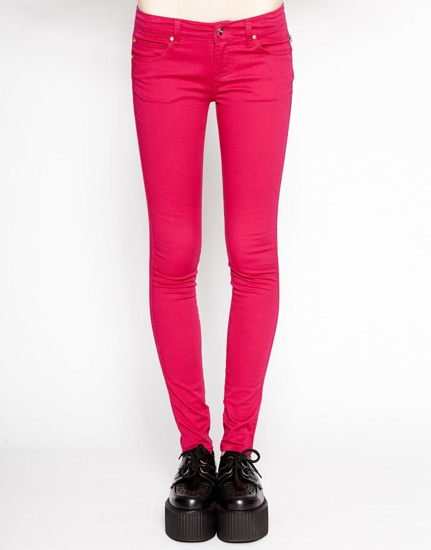 Raspberry T Back Jean