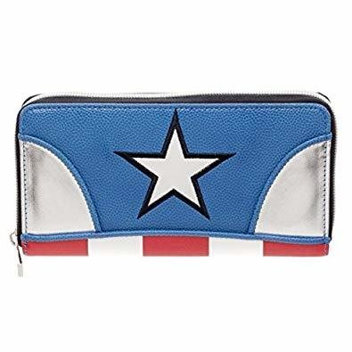 Captain America Clutch Wallet