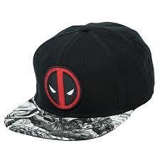Deadpool Comic Snapback