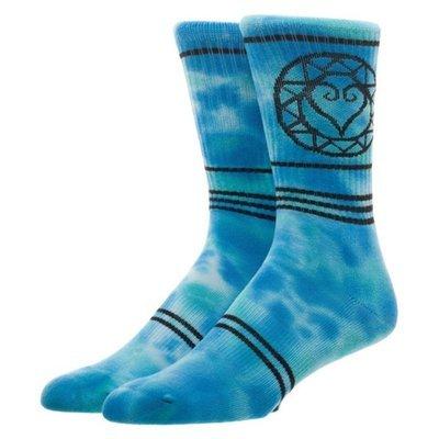 Kingdom Hearts Tie Dye Crew Socks