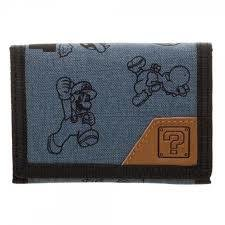 Super Mario Bros Trifold Wallet