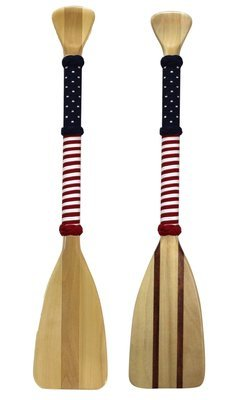 Flag Wrap- 3 Foot Softwood Paddle