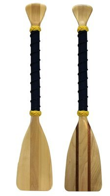 Navy Nautical- 2.5 Foot Softwood Paddle