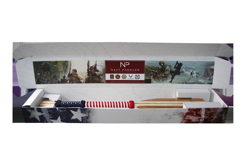 Paddle Display Box