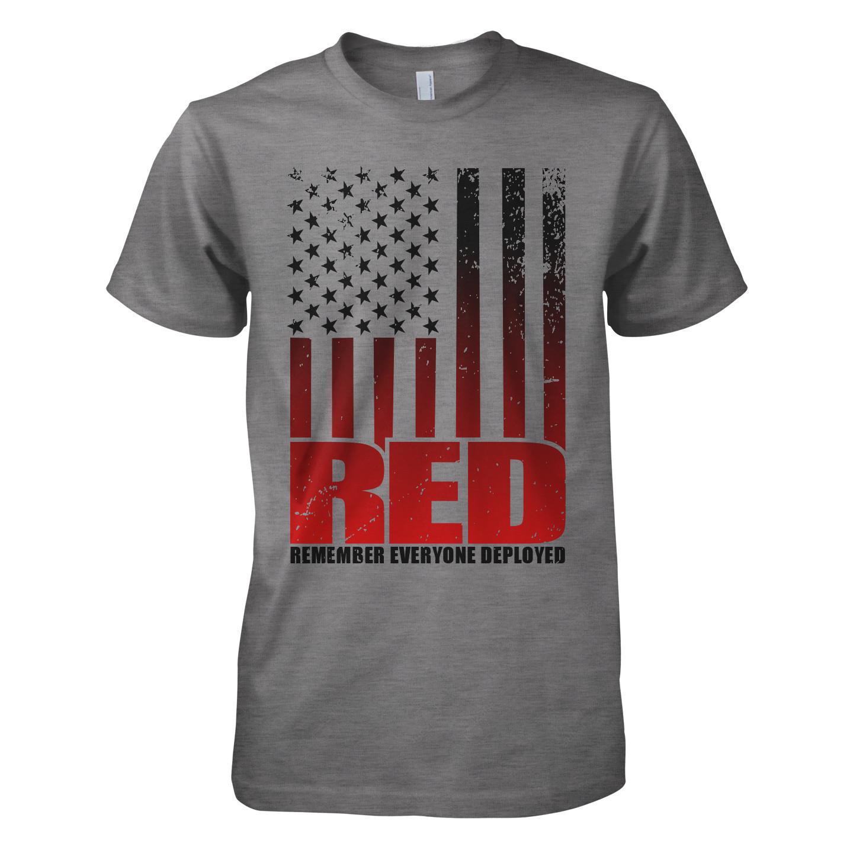 Men's RED Deployed Tee