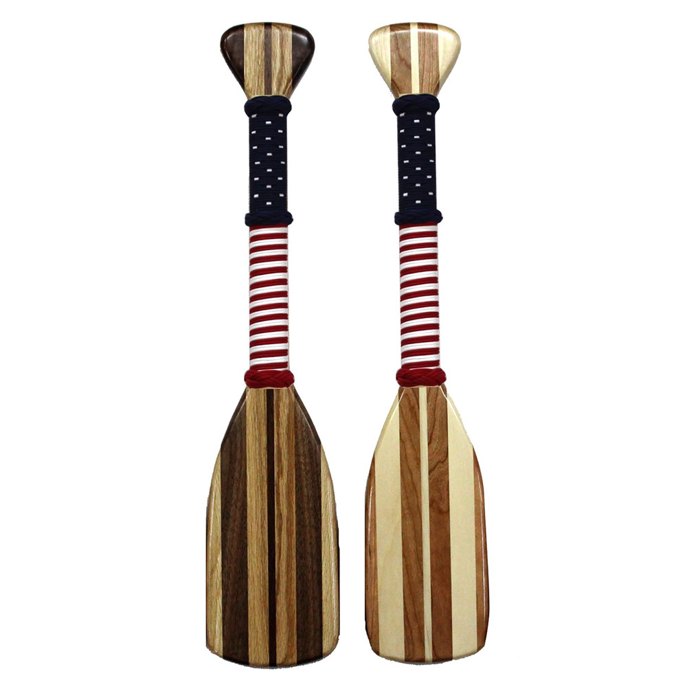 Flag Wrap- 22 Inch Hardwood Paddle