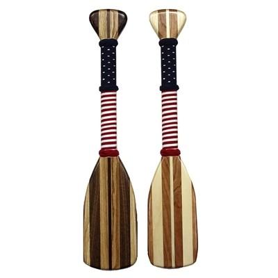 Flag Wrap- Hardwood Paddle