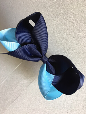 """5.5"""" Two Tone Bow"""