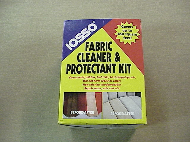Iosso Fabric Cleaner & Protection Kit (Canvas Cleaning Kit)