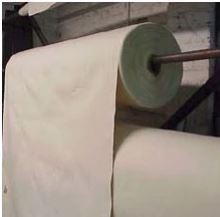 "#10 Unfinished Canvas Duck Roll – Full Roll Approx 50 Yards 144 "" Width"