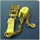 Ratchet Strap with Chain Extensions 3