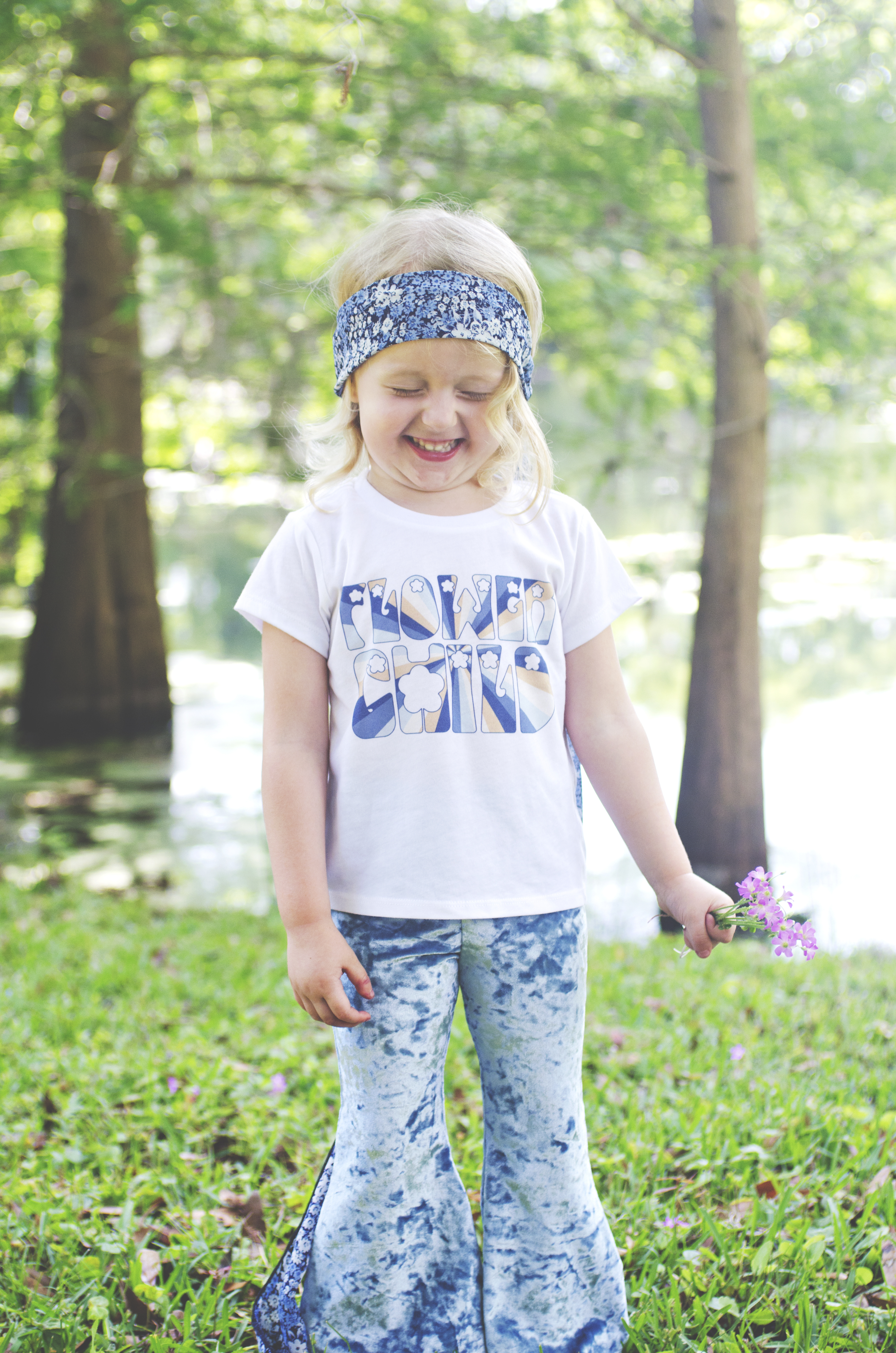 Flower Child Children Shirt