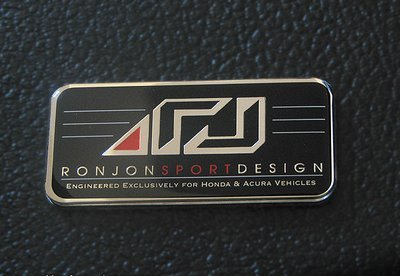 RonJon Vehicle Badge