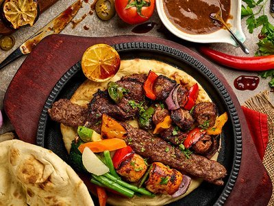 Sharing Baroushka Grill for 2 People
