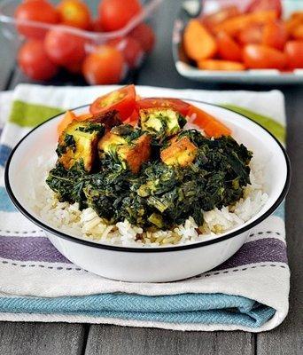 Yemense Chicken and Spinach Salona