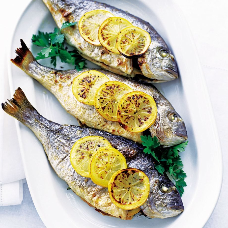 Spiced Baked Whole Sea Bream 00038