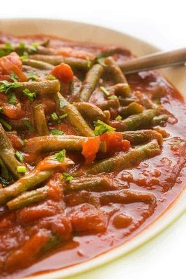 Beirut Spiced Long Beans