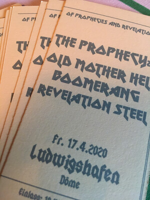 Ticket: Of Prophecies And Revelations