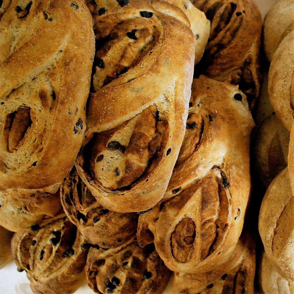 Cinnamon Raisin Swirl Bread 10002