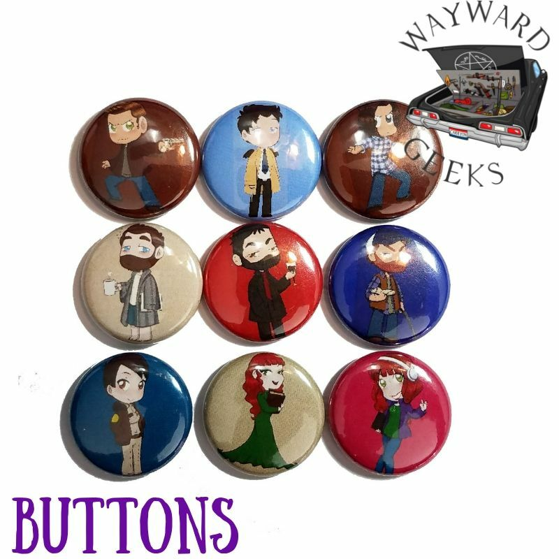 Road So Far Buttons RSF Buttons
