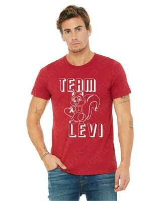 Team Levi Buddy Walk Event Tee 2019