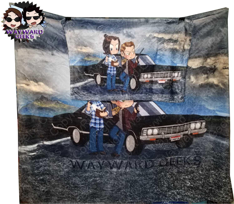 """That Was Scary"" Wayward Geeks Super Plush Blanket"