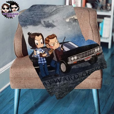 Wayward Geeks Super Plush Blanket - 3 Designs
