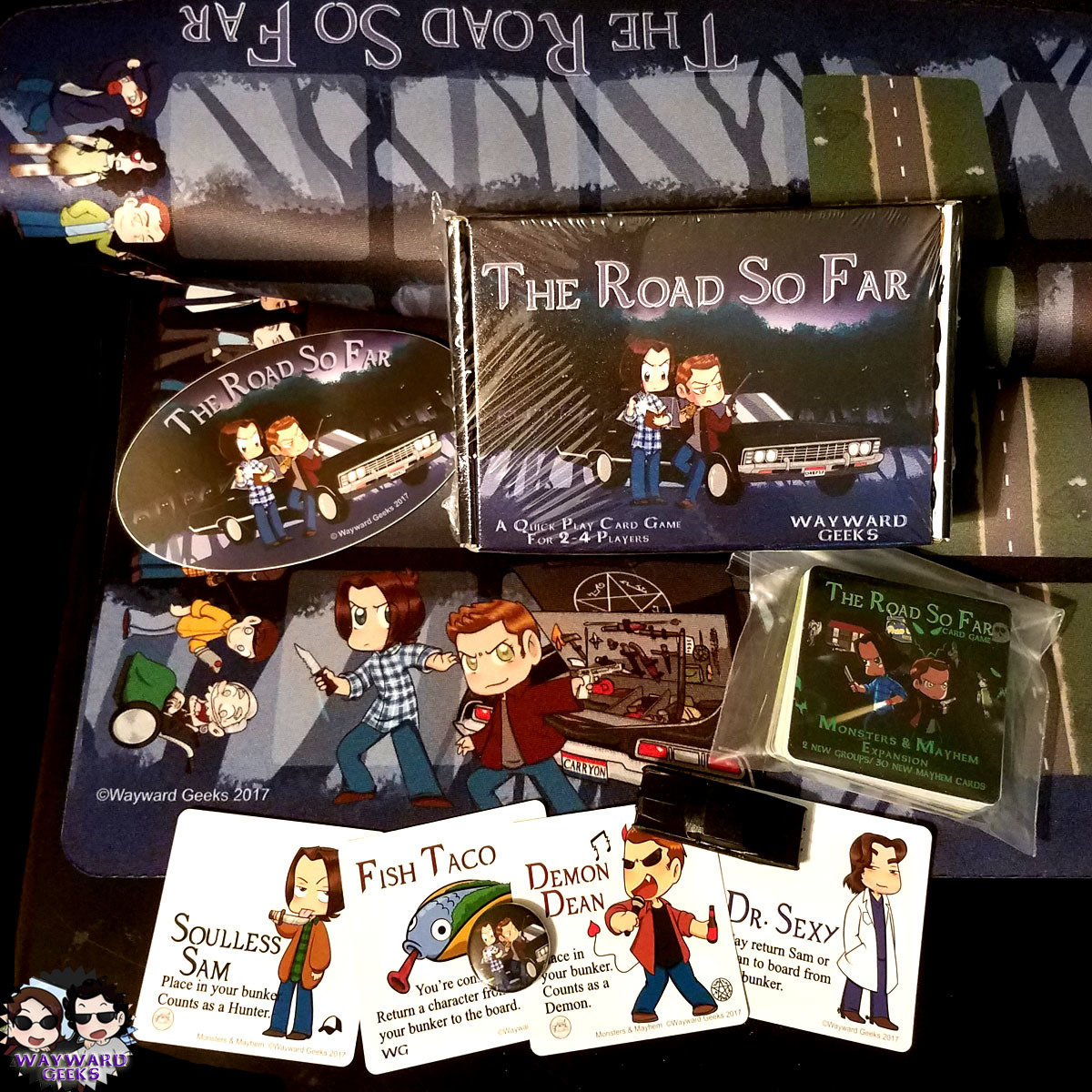 The Road So Far Card Game - Basic Bundle with Expansion - LTD TIME FREE PROMO CARD SET