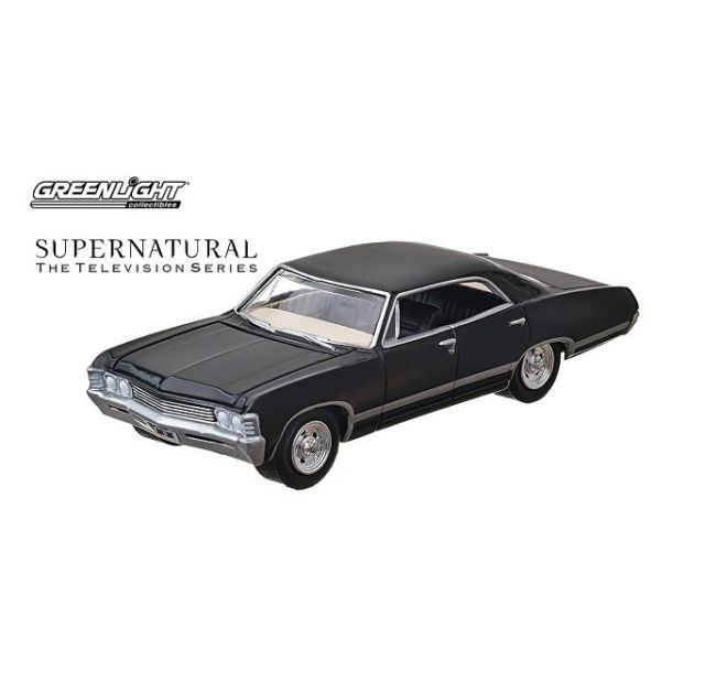 "Supernatural 1967 ""Baby"" Impala Greenlight Diecast Vehicle"