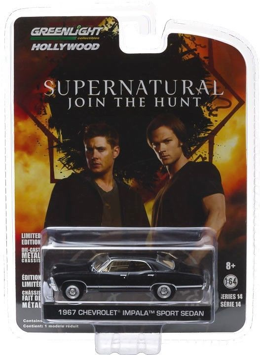 "Supernatural 1967 ""Baby"" Impala Greenlight Diecast Vehicle greenlight"