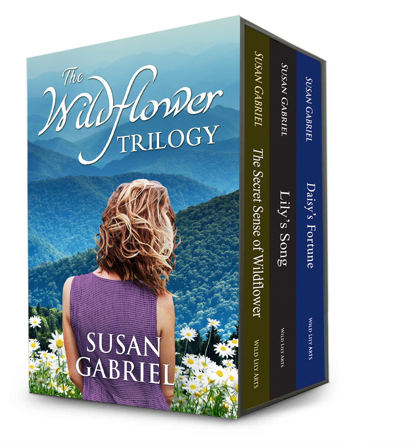 The Wildflower Trilogy - paperback, autographed by the author