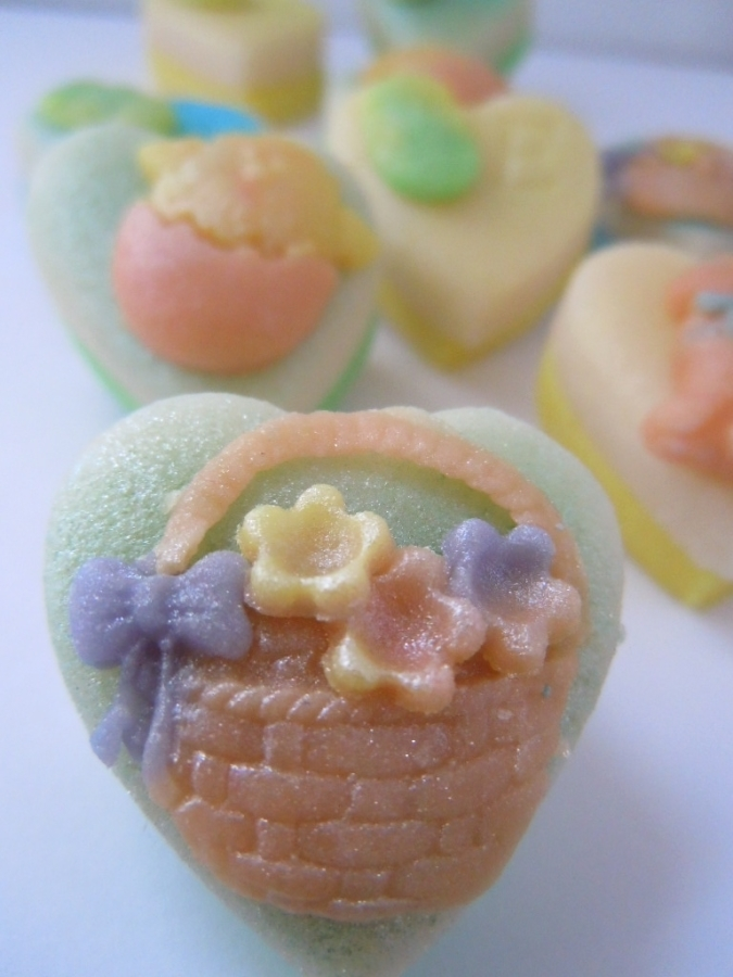 """Say """"Happy Easter"""" in marzipan this year."""