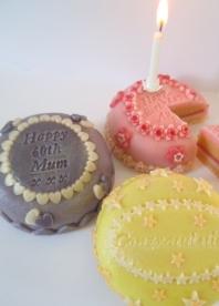 Birthday Marzigram Mini Cake 00057