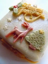 Season's Greetings Mini Cake