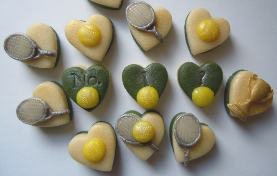Anyone for marzipan tennis?!