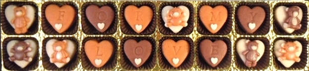 Choose your own message for a personalised treat!