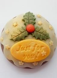 Personalised Plum Pudding 00178