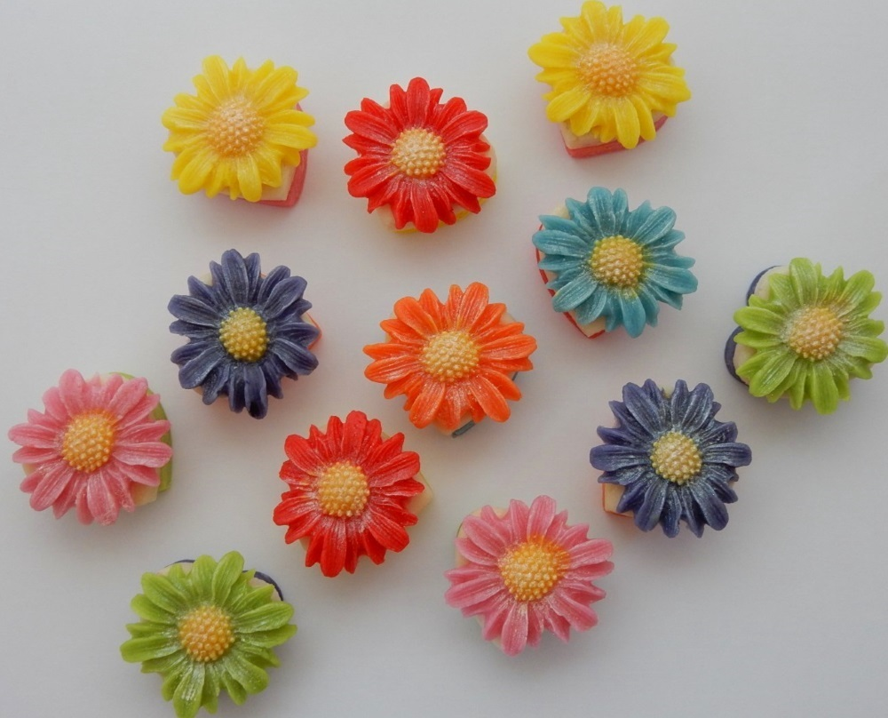 A box of our Rainbow Daisies makes a bright and tasty gift for all ages.