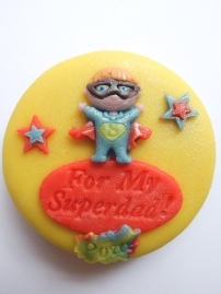 Superdad Marzigram Mini Cake
