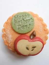 Apple Pie Marzigram Mini Cake