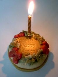 Christmas Wreath Mini Cake